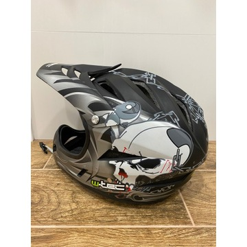 Kask W-Tec na rower/motor 59cm-60cm