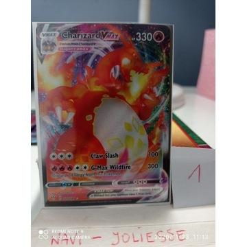 Pokemon Charizard VMax Full Art M/NM 020/189 DA