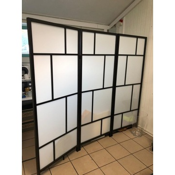 Parawan, ścianka działowa (Risor, Ikea)