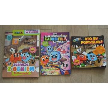 Niesamowity świat Gumballa - zestaw książeczek