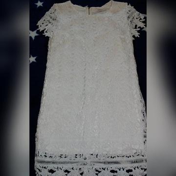 Sukienka koronkowa roz. L/42