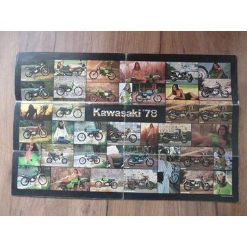 Motor Kawasaki 78 prospekt