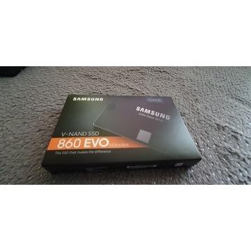 Dysk Samsung 860 evo 500gb sata nowy