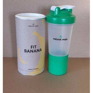 NATURAL MOJO SHAKE-  Zestaw Fit Banana + shaker