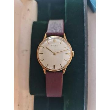 Złoty Rolex i Rakieta NOS - zestaw vintage kolekcj