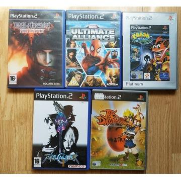 5 Gier Final Fantasy VII Crash Bandicoot Jak
