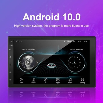 Radio 2 din android 2gb