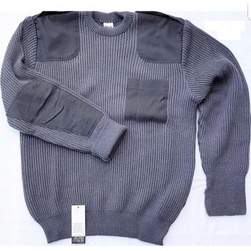 Sweter oficerski sił powietrznych stalowy
