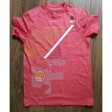 T-shirt marki Reebok Crossfit rozmiar M, różowa