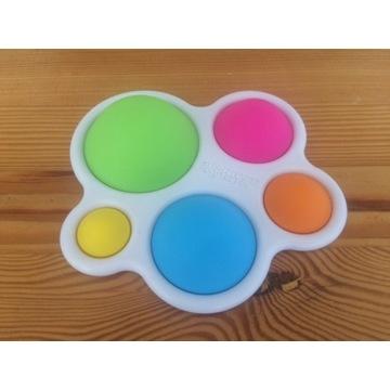 Fat Brain Toys kolorowe bąbelki pykające