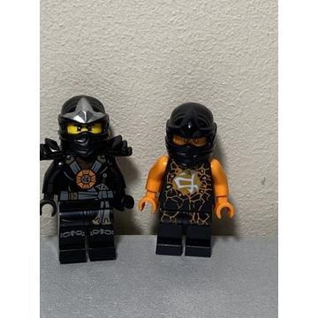 Lego figurka Cole Ninjago 2szt