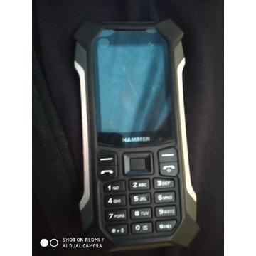 Telefon komórkowy MyPhone Hammer Patriot Czarny