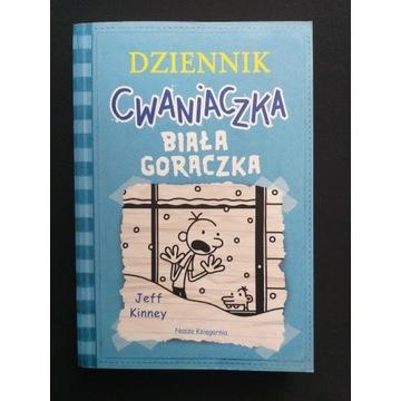 Zestaw książek pt. Dziennik Cwaniaczka.