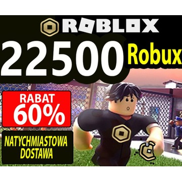 Roblox Robux 22500 - fast delivery