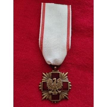 Odznaka Honorowa Polskiego Czerwonego Krzyża brąz