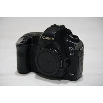 Canon 5D mk II NISKI PRZEBIEG +grip +karty pamięci
