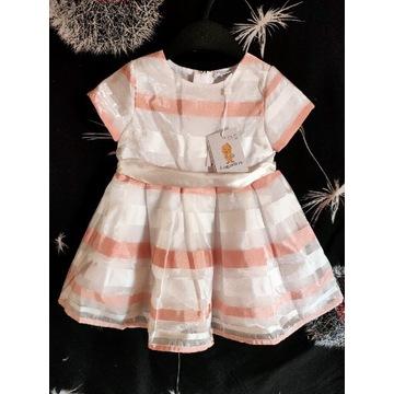Nowa sukienka dla dziewczynki OVS kids 74 cm