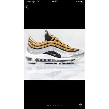 Nike W Air Max 97 matallic gold