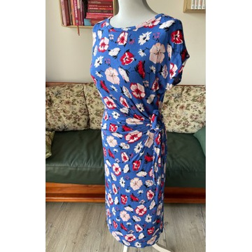 Sukienka maskująca brzuszek Moonsoon ciążowa r 38