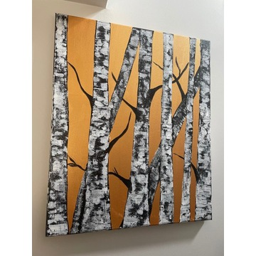 Obraz akryl Drzewa 50x60