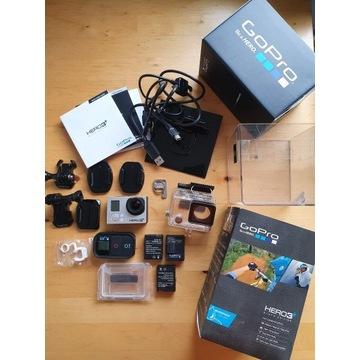Kamer GoPro 3+ Black z akcesoriami