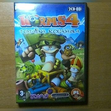 Worms 4 Totalna Rozwałka Mayhem PC PL