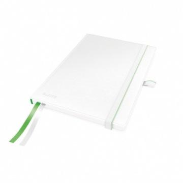 Notatnik LEITZ A5, w kratkę, biały 4477-00-01