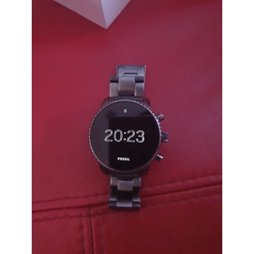 Smartwatch Fossil Q explorist gen 4  gunmetal NFC