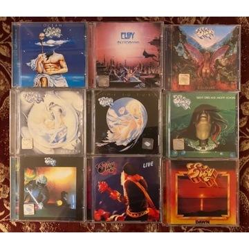 Eloy 9 x CD