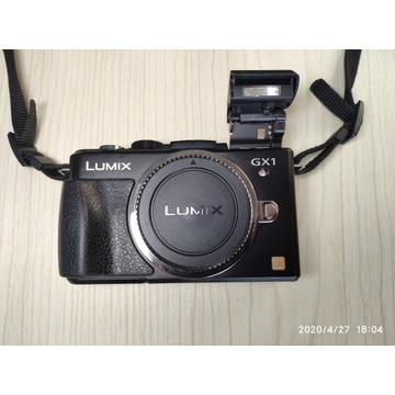 Panasonic Lumix GX1, 14-42, + wizjer elektroniczny