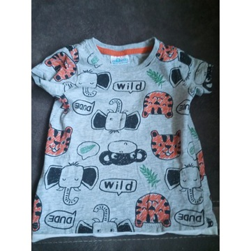 Koszulka niemowlęca dla chłopca rozmiar 86