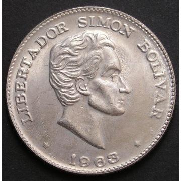 Kolumbia 50 centavos 1963 - Simon Bolivar - st 2