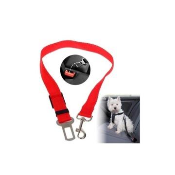Smycz dla psa kota samochodowe pasybezpieczeństwa