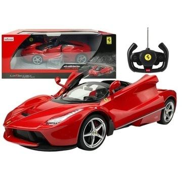 Auto R/C Ferrari Aperta Rastar 1:14 Czerwone na Pi