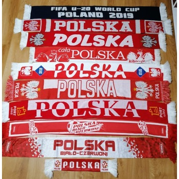 Szal Szalik Polska 16 sztuk