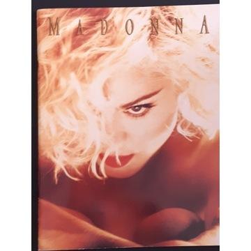 Madonna Blond Ambition 1990 Tourbook