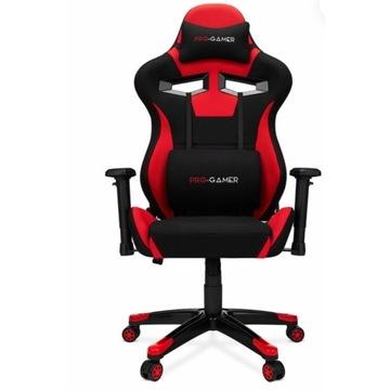 Fotel gamingowy AGURI+ czerwony PRO GAMER