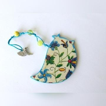 Kaszubski ptaszek ozdoba zakładka do ksiazki