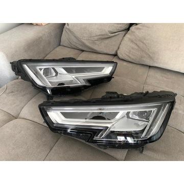 Lampy PRZÓD Full LED 8W 2017 Audi A4 B9 KOMPLETNE