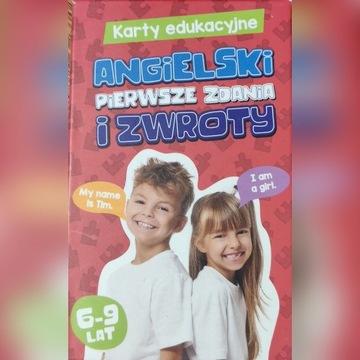 Karty edukacyjne angielski