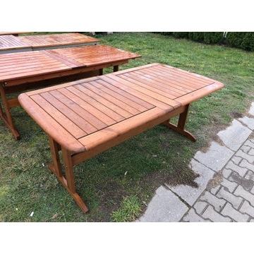 Stół drewniany ogrodowy, na taras