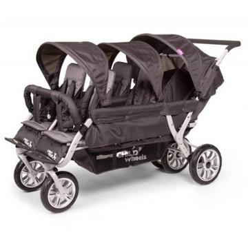 Wózek 6cio osobowy child wheels