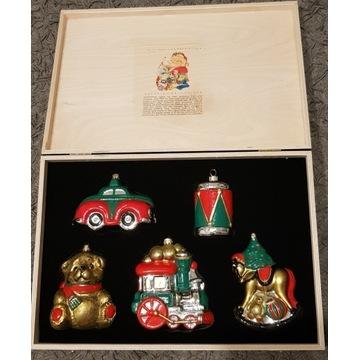 Bombki zabawki zestaw Komozja Mostowski bombka