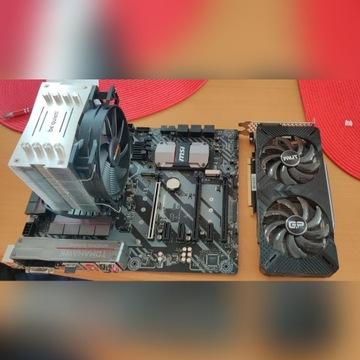 intel i7 6700k + RTX 2070 + MSI z270 + Cooler!
