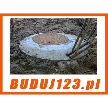 Przyłącze kanalizacja sanitarna, deszczowa