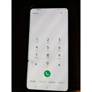Samsung Galaxy S8 Plus-pęknięta szybka