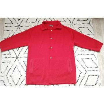 Czerwony kardigan/płaszcz Salvatore Ferragamo