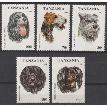 TANZANIA - 1993 - PSY - CZYSTE **