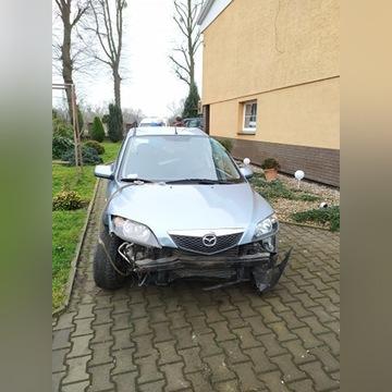 Mazda 2 powypadkowa.