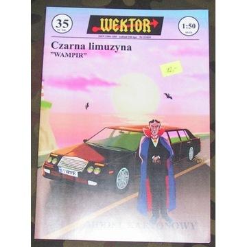 WEKTOR - Czarna limuzyna